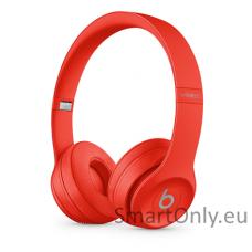 Belaidės ausinės Beats Solo3 Raudona