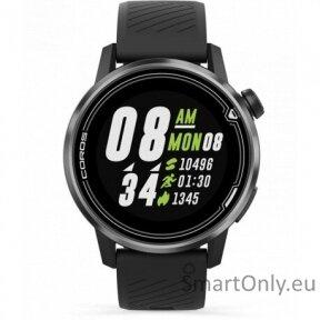 Išmanusis laikrodis Coros APEX Premium Multisport 42mm (juoda)