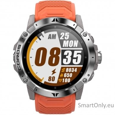 COROS VERTIX 2 Watch Lava išmanusis laikrodis 3