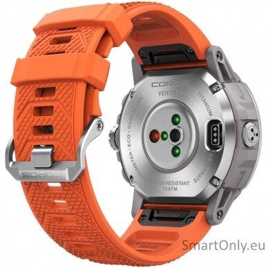 COROS VERTIX 2 Watch Lava išmanusis laikrodis 4