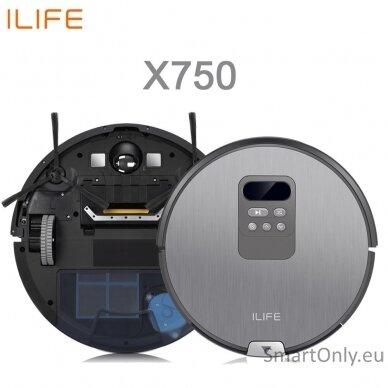 Dulkių siurblys-robotas ILIFE X750 4