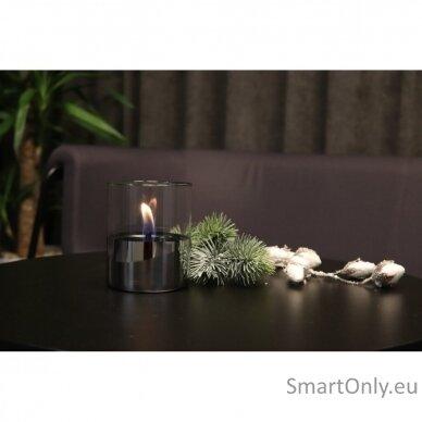 Ekologiškų žvakių dovanų rinkinys Tenderflame Silver 3