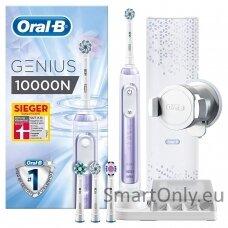 Elektrinis dantų šepetėlis Oral-B Genius 10000N Baltas