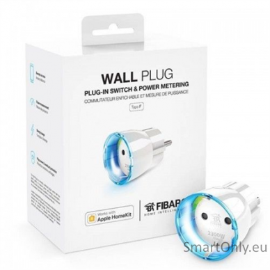 Elektros Lizdo Adapteris Fibaro Wall Plug 4