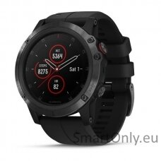 Garmin Fenix 5x Plus Sapphire All Black