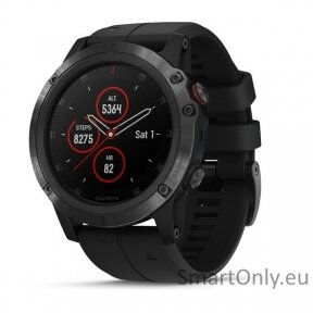 fenix 5x Plus,Sapphire,Black w/Blk Bnd,GPS Watch,EMEA
