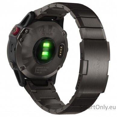 Garmin Fenix 6 Pro Solar Carbon Gray Titanium 2