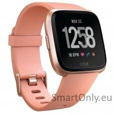 Fitbit Versa NFC Peach išmanusis laikrodis