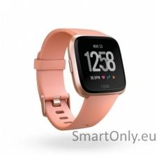 Fitbit Versa NFC išmanusis laikrodis (persikinė)