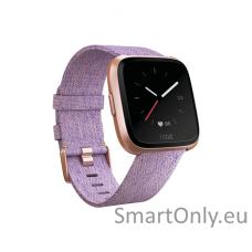 Fitbit Versa NFC Special Edition išmanusis laikrodis (alyvinė)