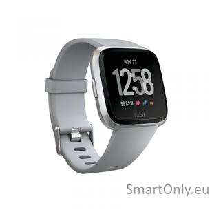 Fitbit Versa NFC išmanusis laikrodis (pilka)