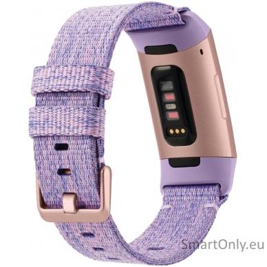 Fitbit Charge 3 išmanioji apyrankė (violetinė) 3