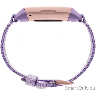 Fitbit Charge 3 išmanioji apyrankė (violetinė) 4