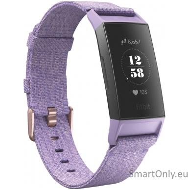 Fitbit Charge 3 išmanioji apyrankė (violetinė)