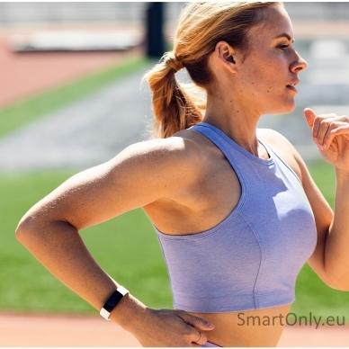 Fitbit Inspire HR išmanioji apyrankė (balta) 5
