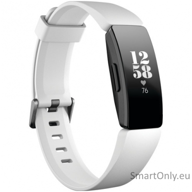 Fitbit Inspire HR išmanioji apyrankė (balta)