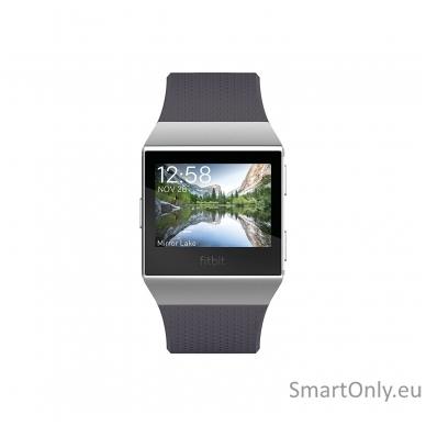Fitbit Ionic išmanusis laikrodis (pilka) 2