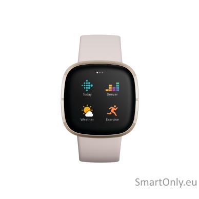 Fitbit Sense Smart watch Lunar White 2
