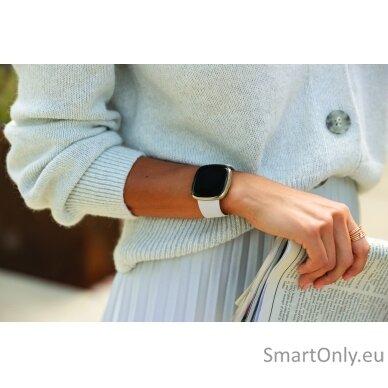 Fitbit Sense Smart watch Lunar White 7