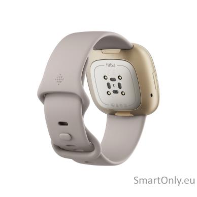 Fitbit Sense Smart watch Lunar White 3