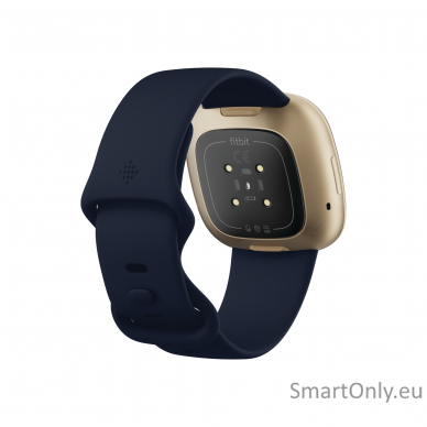 Fitbit Versa 3 Midnight/Soft Gold Aluminum 3