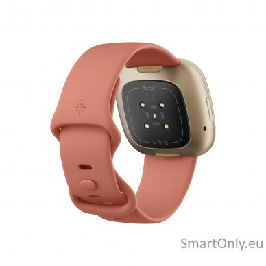 Fitbit Versa 3 Pink Clay/Soft Gold Aluminum 3