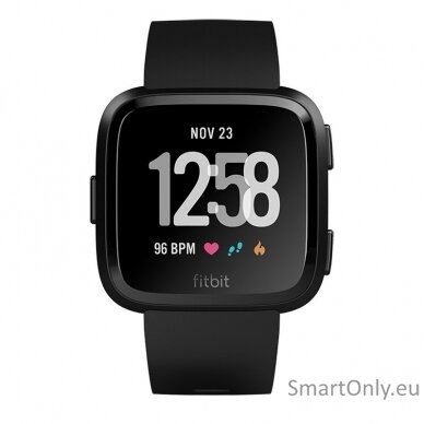 Fitbit Versa NFC Black išmanusis laikrodis 2