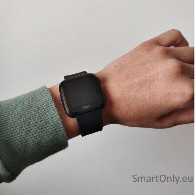 Fitbit Versa NFC Black išmanusis laikrodis 7