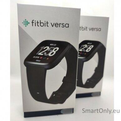 Fitbit Versa NFC Black išmanusis laikrodis 8