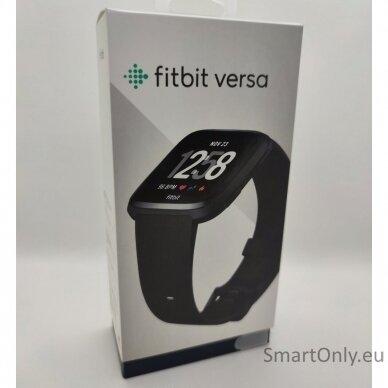 Fitbit Versa NFC Black išmanusis laikrodis 9