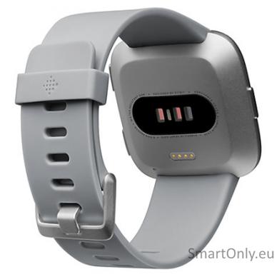Fitbit Versa NFC išmanusis laikrodis (pilka) 2