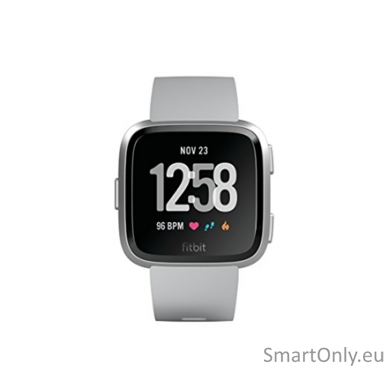 Fitbit Versa NFC išmanusis laikrodis (pilka) 3