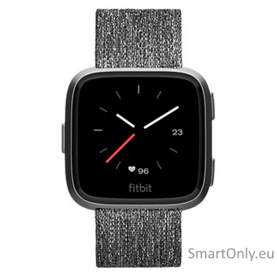 Fitbit Versa NFC Special Edition Smartwatch Charcoal Woven 2