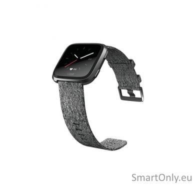 Fitbit Versa NFC Special Edition išmanusis laikrodis (tamsiai pilka) 3