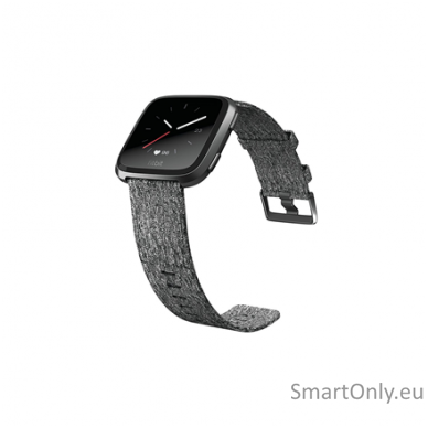 Fitbit Versa NFC Special Edition Smartwatch Charcoal Woven 3