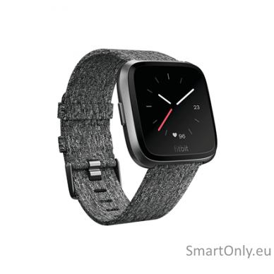 Fitbit Versa NFC Special Edition išmanusis laikrodis (tamsiai pilka)