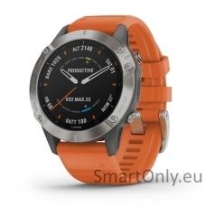 Smartwatch Garmin Fenix 6 Saphire Orange