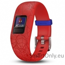 vivofit jr2, WW, Adjustable, Spider-Man, Red