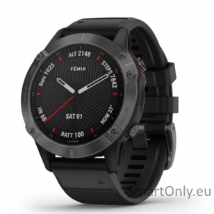 Išmanusis laikrodis Garmin Fenix 6S PRO Black