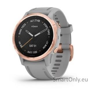 Išmanusis laikrodis Garmin Fenix 6S Saphire Rose Gold
