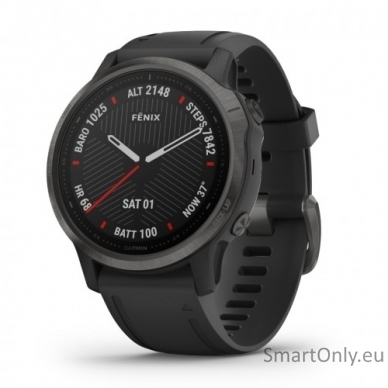 Išmanusis laikrodis Garmin Fenix 6S Saphire Carbon Grey