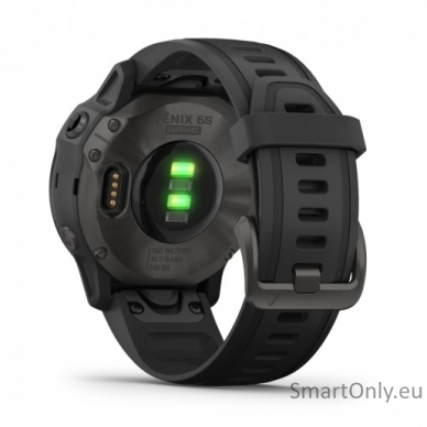 Išmanusis laikrodis Garmin Fenix 6S Saphire Carbon Grey 4