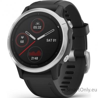 Išmanusis laikrodis Garmin Fenix 6S Silver Black