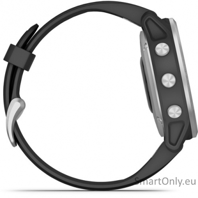 Išmanusis laikrodis Garmin Fenix 6S Silver Black 4