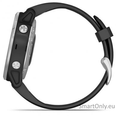Išmanusis laikrodis Garmin Fenix 6S Silver Black 5