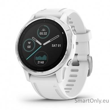 Išmanusis laikrodis Garmin Fenix 6S Silver White