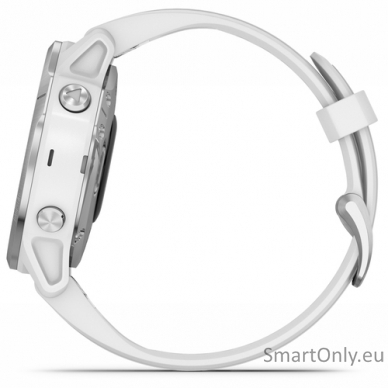 Išmanusis laikrodis Garmin Fenix 6S Silver White 5