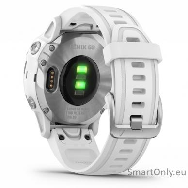 Išmanusis laikrodis Garmin Fenix 6S Silver White 6