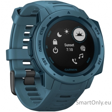 Išmanusis laikrodis Garmin Instinct Lakeside Blue 3