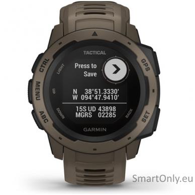 Išmanusis laikrodis Garmin Instinct Tactical Coyote Tan 2